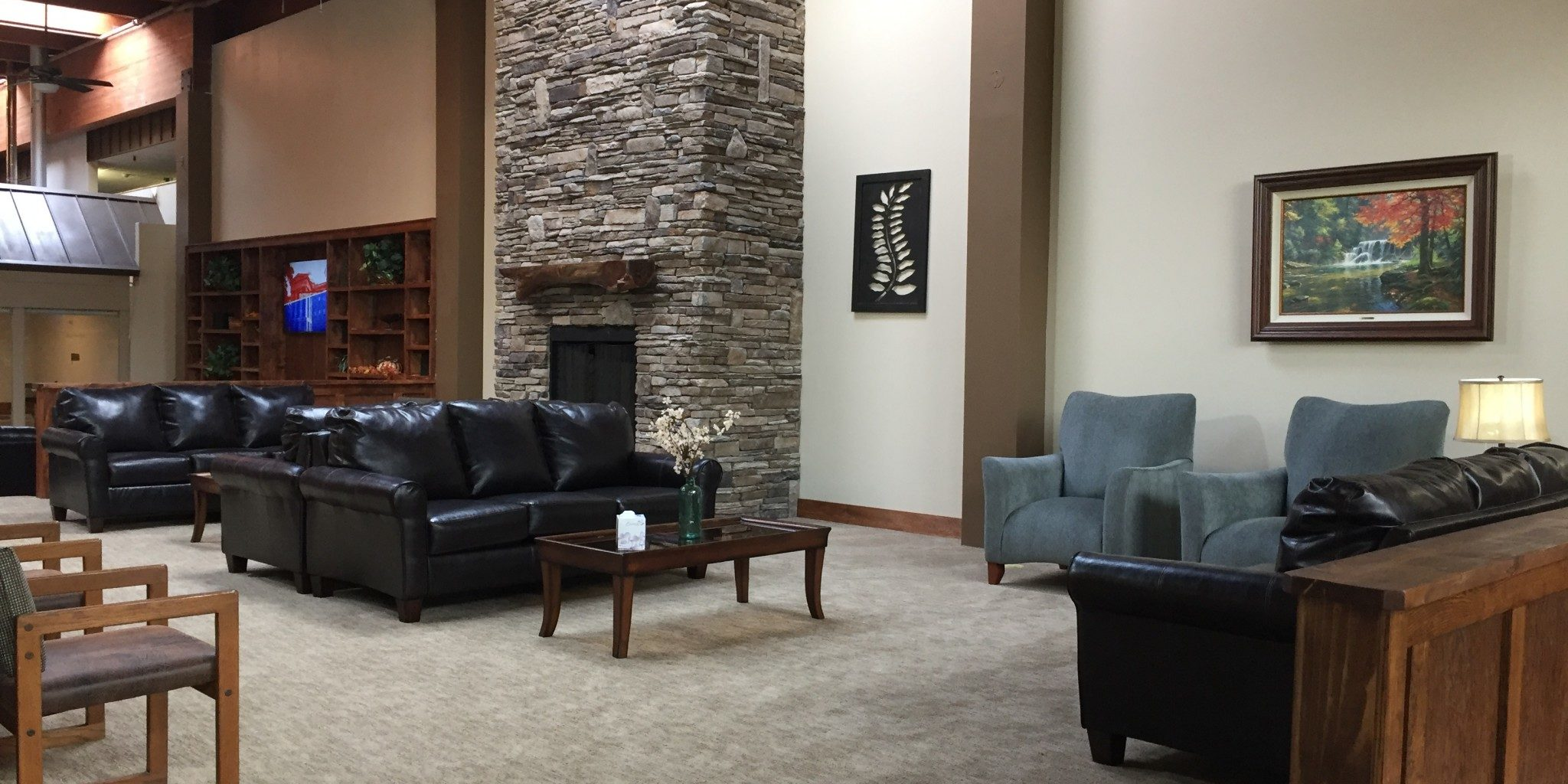 Lobby Area at Cascades Mountain Resort